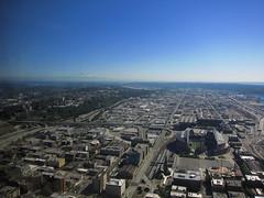 Columbia Center Sky View (¡Carlitos) Tags: seattle usa tower skyscraper washington torre unitedstates edificio columbiacenter