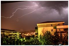Ciel 11 (Fabien TEBOUL) Tags: lighting light sky nikon flash pluie ciel eclair orage lightstorm d5200