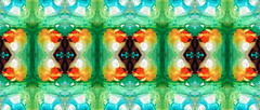 Life Patterns 1 - Abstract Art By Sharon Cummings (BuyAbstractArtPaintingsSharonCummings) Tags: blue orange abstract green coral modern painting mirror energy aqua pattern symbol spirit unique patterns indian air arts wallart kaleidoscope tribal symmetry divine canvas nativeamerican health sacred prints symmetrical fractal mystical positive organic mirrorimage om spiritual healing eco wicca abundance aura mystic chakra symbolic divinity celestial symbolism shakti heal vibration newage holistic alternativemedicine vibrational healingarts ceruleanblue sharoncummings