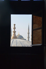 [From The] Eye Of Sophia (Smith-Bob) Tags: church window museum architecture turkey asia europe view magritte istanbul mosque picasso frame bluemosque sultanahmet fatih ayasofya haghiasophia beautifularchitecture worldheritagelisted stunningarchitecture