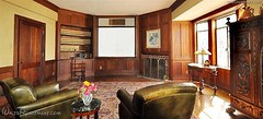 Walt Disney's Los Feliz home - theater - back