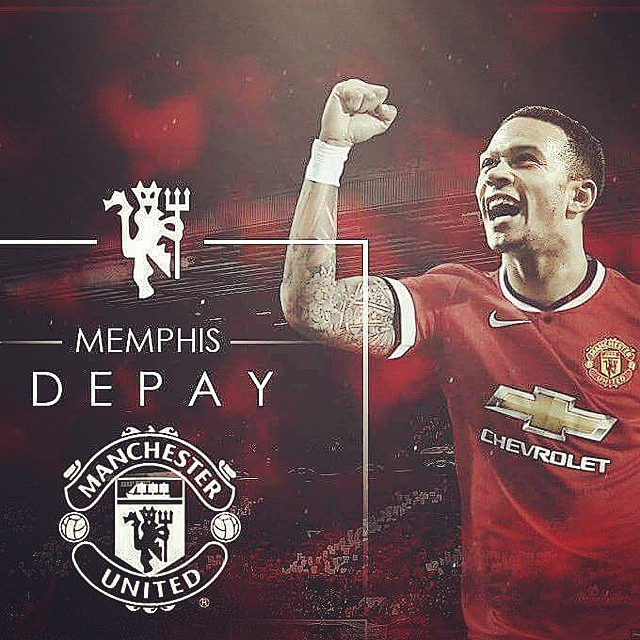 Welcome to Manchester United - MEMPHIS DEPAY😘😍❤   #MUFC #GGMU