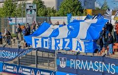 FKP Pirmasens vs.1.FC Saarbrcken, Sportpark Husterhhe, Pirmasens, Germany (!Kitty!) Tags: stadium ground stadion stade saarbrcken pirmasens 1fc fkp groundhopping