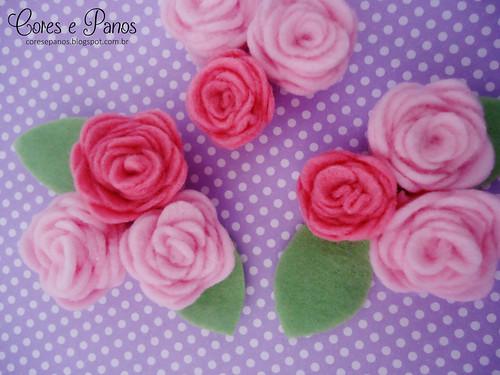 Flores de feltro <3