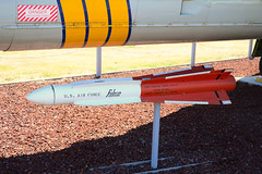 Hughes AIM-4F air-to-air missile (Ian E. Abbott) Tags: falcon missile usaf hughes adc usairforce interceptor castleairmuseum aam convair f106 deltadart centuryseries f106a 456thfighterinterceptorsquadron coldwaraircraft airtoairmissile f106adeltadart airdefensecommand convairf106adeltadart convairf106deltadart aim4 f106deltadart convairf106 convairf106a 572456 aim4falcon 580793 falconmissile aim4f centuryseriesfighter hughesaim4 hughesaim4ffalconmissile hughesaim4falconmissile hughesaim4f aim4ffalcon 456thfis