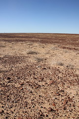 Gibber Rock Plains (BattysGambit) Tags: blue autumn red sky rock bush ruins track desert earth south horizon rally salt cancer australia qld queensland council outback stony sa plains fundraiser simpson gravel pans 2015 shitbox gibber birdsville sturts