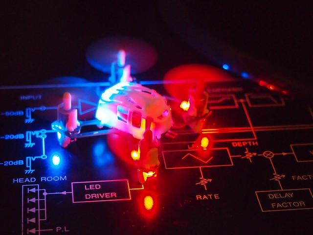 lights led drone hubsan
