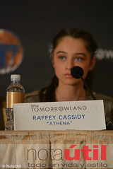"Raffey Cassidy ""Athena"" (NotaUtil) Tags: bird jeff brad canon movie hotel tim george dr cassidy disney follow hills montage conference beverly press tomorrowland athena clooney jensen mcgraw urania subscribe damonlindelof raffey notautil"