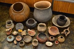 "LARGE LOT INDIAN POTTERY, SOME ANASTAZI PERIOD. • <a style=""font-size:0.8em;"" href=""http://www.flickr.com/photos/51721355@N02/17947677081/"" target=""_blank"">View on Flickr</a>"