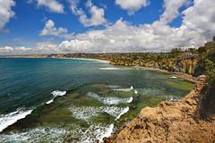 Beautiful La Jolla (markwhitt) Tags: ocean california usa nature beautiful beauty clouds landscape nikon scenery waves sandiego scenic lajolla cliffs pacificocean coastline californiacoast d800 markwhitt markwhittphotography