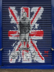 Catman (BE'N 59. Street photographer) Tags: londres london streetart catman queen