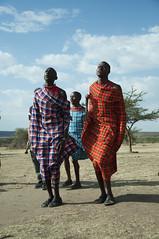 Masai jump (jhderojas) Tags: masai jump mara kenia