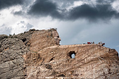 Dark clouds over Crazy Horse (Marc Haegeman Photography) Tags: crazyhorse nativeamerican indian lakota sioux southdakota mountrushmore blackhills badlands monuments sculptures outdoor carving korczakziolkowski custer wildwest americanhistory americana rock landscape usa crazyhorsememorial custerstatepark nikond750