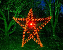 Night star. (Nikolas Fotos) Tags: lightpainting lightart llightpainting lihgt longexposure star lichtmalerei lichtkunst lightbrush nightshot nightphoto nightscape nightphotography night