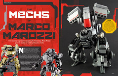 Thanks Lewis Matthews for my interview in BRICKS ISSUE 17 (Marco Marozzi) Tags: legomech lego legodesign legomecha moc mech marco marozzi bricks magazine