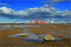 New Brighton (Wirral UK) 16th October 2016 (Cassini2008) Tags: newbrighton wirral liverpool2deepwaterterminal