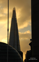 The Shard (Owl Prints) Tags: dusk architecture theshard cloud countyhall london towers bridges