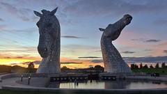 (Scotland Through The Camera) Tags: kelpies falkirk grangemouth thekelpies scottish scotland lovescotland tourscotland