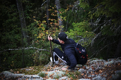 Made a trip to Nuuksio National park. (VisaStenvall) Tags: canon eos 6d 50 mm 50mm f 18 ii finland suomi nuuksio national park woods walk hike day trip autumn late summer friends tree rocks