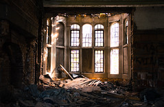 Even So (cara zimmerman) Tags: abandoned gary church ruins broken indiana fallingapart