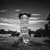 Monument (Dan Constien) Tags: madisonwisconsin madison wisconsin mendotamentalhealth longexposure blackandwhite clouds weldingglass sonya7 minolta28mm ndfilter