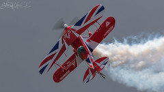 Rich Goodwin Airshows Pitts S2s Special G-EWIZ (benji1867) Tags: rich goodwin airshows pitts s2s special gewiz vl yeovilton hms seahawk royal naval air station rn airshow show day airday navy wings fly flight aviation avgeekl avporn smoke prop biplane