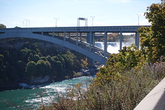 Rainbow Bridge, Niagara Falls (mlcastle) Tags: canada ontario niagara niagarafalls bridge rainbowbridge waterfall river
