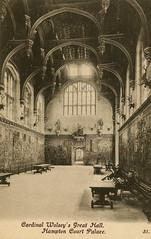 1905 London (Steenvoorde Leen - 2.3 ml views) Tags: londen london 1905 ansichtkaart postkaart postcards postkarte karte card hamptoncourtpalace great britain gb england