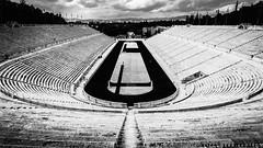 Panathinaiko stadium, Athens, Greece (TALOS300) Tags: sonya6000 sonyilce6000 sonyalpha6000 grecia greece atenas athens blancoynegro blackandwhite bw stadio stadium olimpicstadium panathinaiko