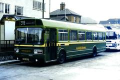 Slide 084-09 (Steve Guess) Tags: guildford surrey england gb uk bus alder valley aldershot district leyland national 76years anniversary livery kpa382p 231