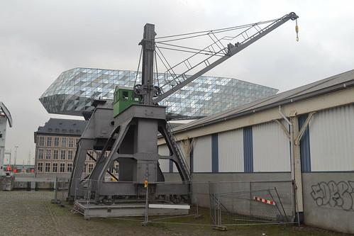 Hydraulische walkraan 111, Antwerpen