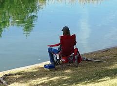 102716-04, Fisherman (skw9413) Tags: arizona redmountainpark fisherman