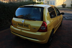 LY 182 29-11-16 004 (AcidicDavey) Tags: liquid yellow renault renaultsport clio 182 ly