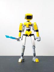humanoid prototype (Alex Kelley) Tags: lego action figure toy design moc robot droid
