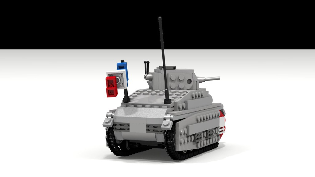 lego tank instructions easy