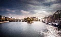 Pont neuf, Paris (Joris Vanbillemont) Tags: paris france river pont neuf arts bridge sunrise