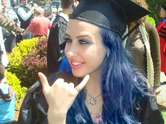 Graduation day (Kate Eppers) Tags: university universities love singer music musicmajor salem salemms graduation graduating kateeppers