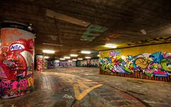 Graffiti (++sepp++) Tags: graffiti stuttgart strasenkunst streetart germany deutschland urban stadt nachtaufnahme nightshot langzeitbelichtung longtimeexposure hdr