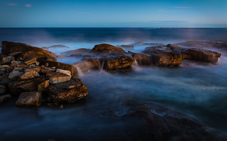 Dusk at Coogee