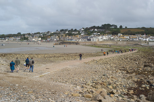 Return to village of Marazion