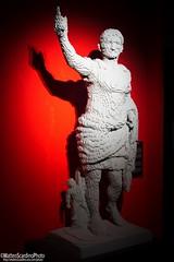 The Art Of The Brick (6) (Matteo Scardino) Tags: theartofthebrick tha art brick milano fabbricadelvapore museo lego mattoncini statua statue bianco rosso white red