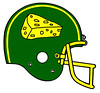 Green Bay Packers alternate (Flagman00) Tags: nfl redesigned football helmets greenbay packers fantasy alternate cheesehead