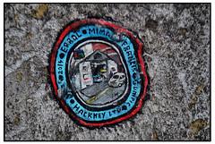 CHEWING GUM ART by BEN WILSON (StockCarPete) Tags: benwilson streetart londonstreetart chewinggumart chewinggum garage hoxton