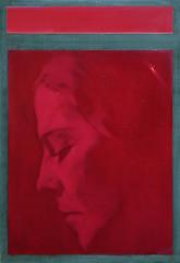 Stille (simone geraci) Tags: simonegeraci rot red rosso painting oil oilpainting art artist contemporaryart youngartist arte artista artecontemporanea stille ardesia lavagna portrait