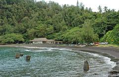 Hana Beach Park and Hana Bay, Maui, Hawaii (trphotoguy) Tags: hana maui hawaii hanahighway rainforest hanabeachpark hanabay