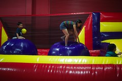 1354 Bubbles (mliu92) Tags: calcifer son birthday party pumpitup belmont figgy daughter