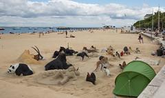 Augmented sand animals (Kestas.Cerniauskas) Tags: urban arcachon aquitainelimousinpoitoucharentes france