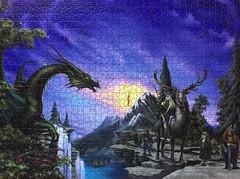 Die Gefhrten - Tower-Puzzle - 1000 Teile (.Francine) Tags: puzzle herrderringe lordoftherings hobbit