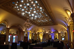 Blue Stars Red Carpets - Pitt (Hughie's Event Production Services) Tags: gobo ledlighting ceilingtreatment