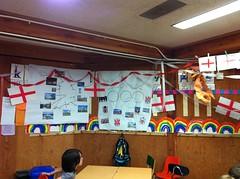 England classroom